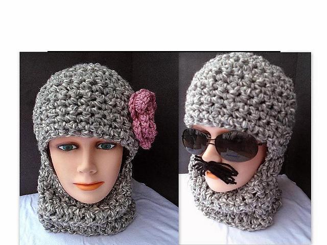 Ravelry 597cro Crochet Ski Hat Balaclava Pattern By Emi Harrington