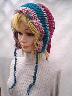 Ravelry  867 Long Tail Fairy Pixie Elf Hood pattern by Emi Harrington 7ece8b6379d
