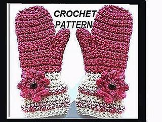 659176d60 Ravelry  231 RASPBERRY MITTENS pattern by Emi Harrington