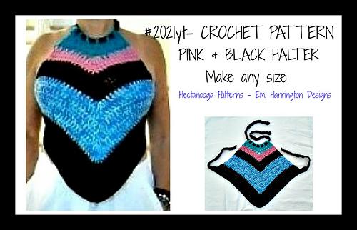 2021yt-_pink_and_black_halter_top__hectanooga_patterns__emi_harrington_designs_medium