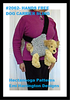 Ravelry 2063 Dog Carrier Sling Pattern By Emi Harrington