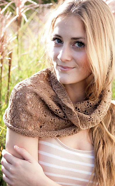 Violeta Cowl by Judy M. Ellis, Handiwords Ltd LLC