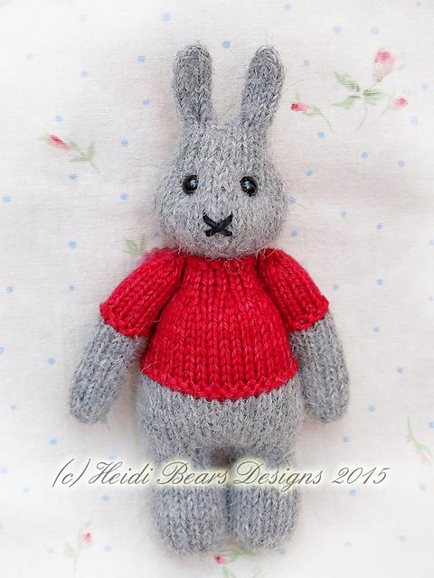 Ravelry Little Pip Sized Bunny Pattern By Heidi Bears