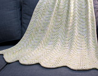 Ravelry: Sweet Pea Baby Blanket pattern by Suzanne Middlebrooks