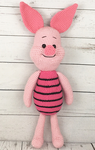 Ravelry: Piglet the Pig pattern by Holly\'s Hobbies