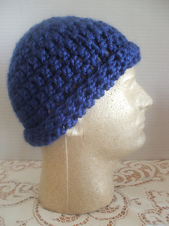 7916acfff65 Ravelry  Quick   Easy Mens Hat pattern by Cheryl Frye