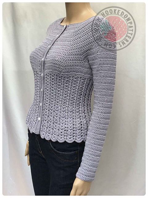 Ravelry Kamila Fitted Cardigan Pattern By Ling Ryan
