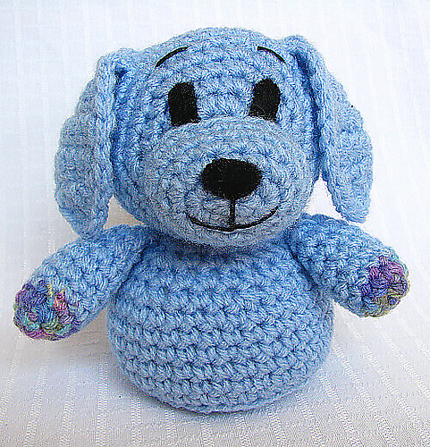 Ravelry Cuddles The Puppy Pattern By Hooked On Fauna