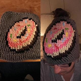 3037ccbf Donut Hat pattern by Brenda Smith