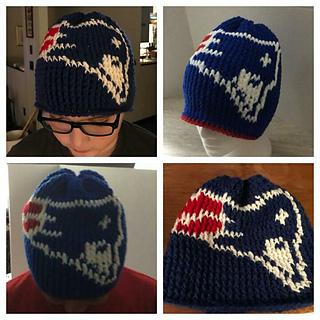 Ravelry  Patriots Hat pattern by Brenda Smith f84fa0c7281