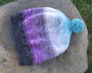 Ravelry  Scrappy Stripey Sock Yarn Hat pattern by Hope Vickman 08cb708fc11