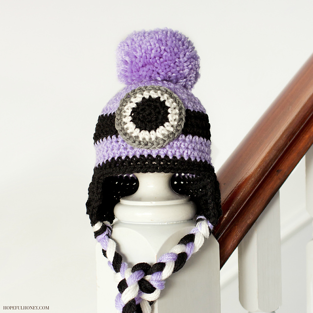 Ravelry Evil Minion Inspired Baby Hat Pattern By Olivia Kent