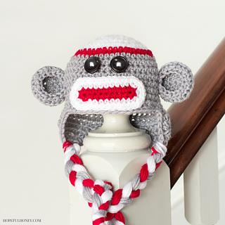 Ravelry Sock Monkey Baby Hat Pattern By Olivia Kent