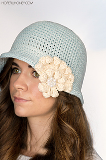 Ravelry 1920s snowflake cloche hat pattern by olivia kent olivia kent dt1010fo