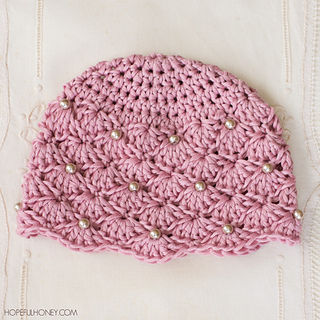 Ravelry Vintage Pearl Baby Hat Pattern By Olivia Kent