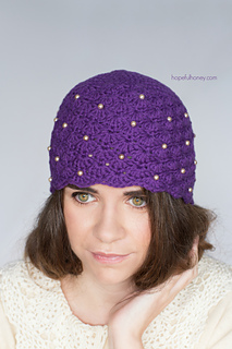 62c3a6cb951 Ravelry  1920s Scalloped Pearl Cloche Hat pattern by Olivia Kent