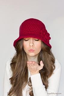 22e0e3b345175 Ravelry: 1920's Cloche Hat pattern by Olivia Kent
