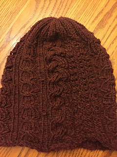 0a86b6a1c46922 Ravelry: Snow Day Cable Beanie pattern by Yarn Knots By Samantha