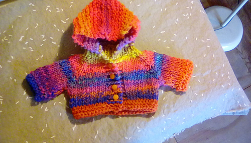 Ravelry Hooded Sweater For A Cabbage Patch Doll Pattern By Janice Helge