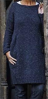 Strickkleid aus Tweedwolle pattern by Landlust Design Team