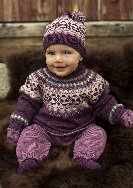 Ravelry 27011 Baby Sweater Pattern By Olaug Kleppe