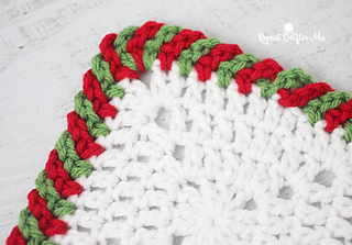 Ravelry Candy Cane Border Pattern By Sarah Zimmerman