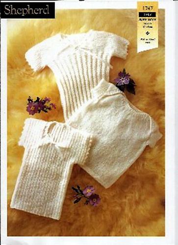 Ravelry Shepherd 1747 Plain Or Ribbed Baby Singlets 3ply Patterns