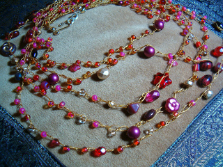 Ravelry Infamous Beaded Necklaces Tutorial Pattern By Devon Clement
