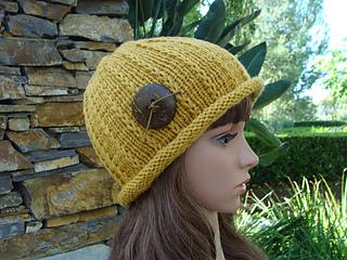 836b14b3691 Ravelry  Women s Roll-up Brim Knit Hat pattern by Mary Legere