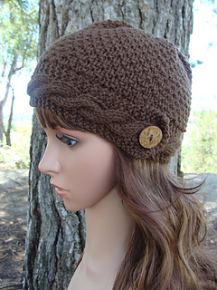 Ravelry  Womens Cable Knit Hat pattern by Mary Legere bd271d87765