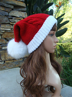 Ravelry  Big Bang Theory Penny s Christmas Santa Slouchy pattern by ... 4899f8ac9277