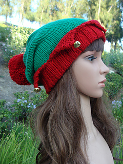 Ravelry: Santas Little Elf Knit Hat pattern by Mary ...