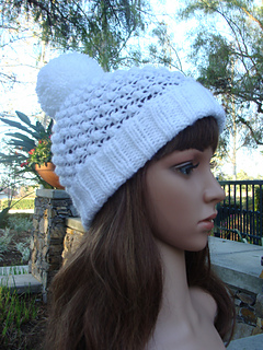 81ba4bfe88d Ravelry  Knit Beanie with fold up brim pattern by Mary Legere