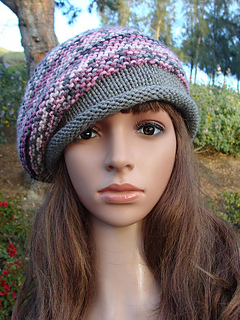 Ravelry  Beret Knit Hat pattern by Mary Legere a3546622b7e