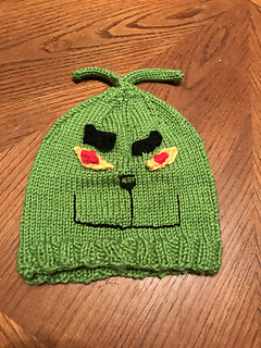 Ravelry  Knitted Grinch Hat pattern by Hattie Quinn 60e905f56310