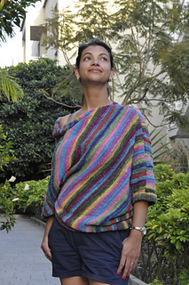 The Paris Sweater pattern by Sarah Keller
