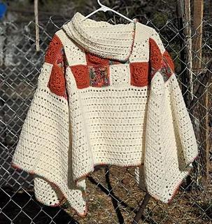 Springtime Poncho pattern by We-R-Soto Design