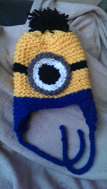 Ravelry Loom Knit Minion Hat Pattern By Julie Harvell