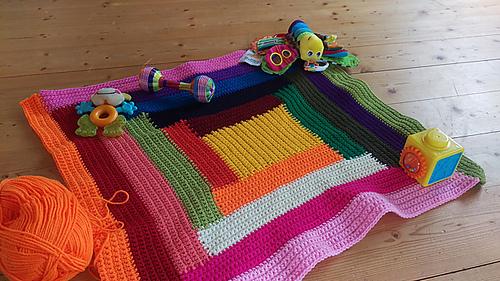 412517d89 Ravelry  Log Cabin Blanket pattern by Marjolein Loomans