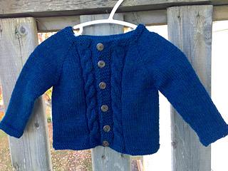 d5e98443b Ravelry  MAX Baby Cardigan Jacket pattern by marianna mel