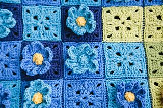 Ravelry Secret Garden Blanket Pattern By Sabina