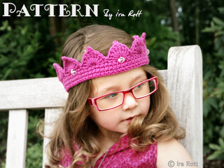 Ravelry  Princess Crown pattern by Ira Rott 59b3a66f759