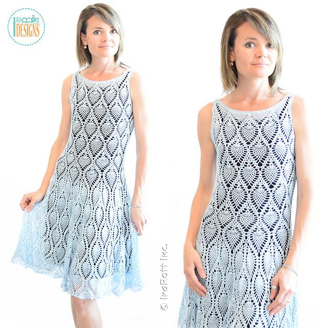 Ravelry: Charming Pineapples Prom Dress pattern by Ira Rott