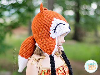 6734c236ba3 Ravelry  Roxy The Forest Fox Hat pattern by Ira Rott