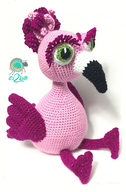 Ravelry Frannie The Flamingo Pattern By Kevin Price