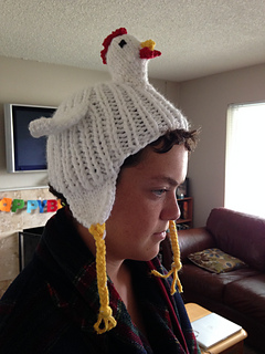 Ravelry  Knit Chicken Hat pattern by J9 tigger 3430f20453e