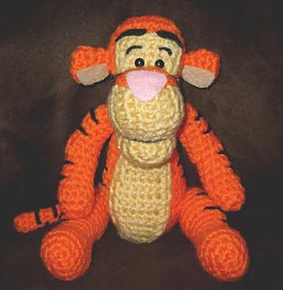 Ravelry Crochet Tigger Amigurumi Pattern By Jnarts