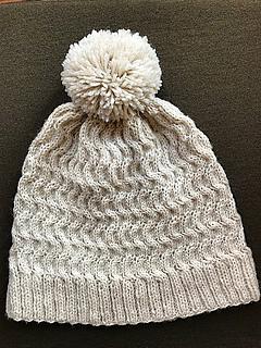 71e5fcf7e4839b Ravelry: Snow Day Hat pattern by JoannaN Designs