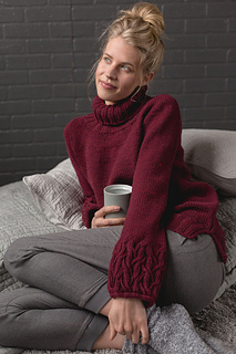 Sweet Dreams Pullover pattern by Paula Pereira