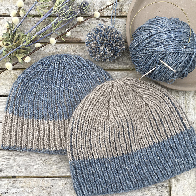 hat knitting pattern by Jennifer Shiels Toland in Nua yarn by stolenstitches